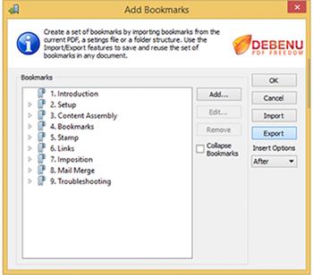 export bookmarks