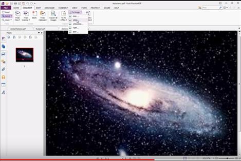 foxit pdf to jpg format