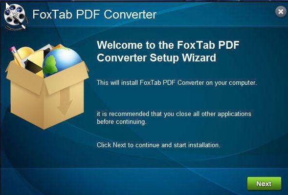 foxtab pdf converter gratuit