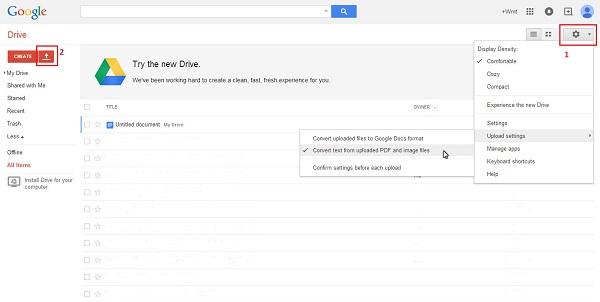 google docs ocr pdf