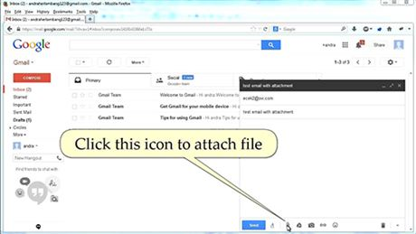 google html email