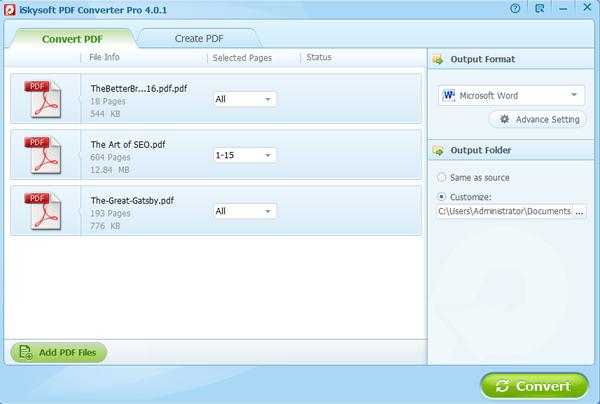 import pdf files