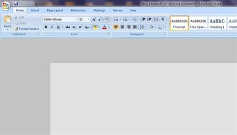 launch microsoft word