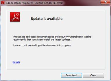 manual update