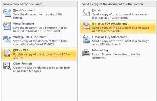 how to turn microsoft word to pdf