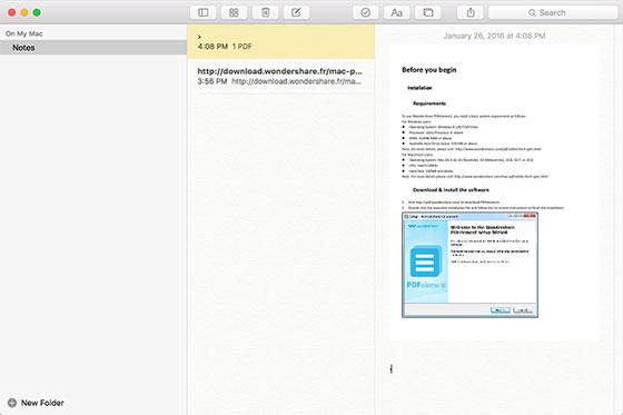 edit pdf in notes