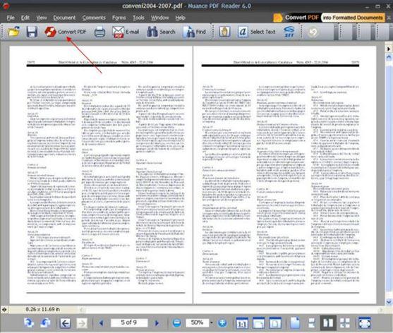Nuance PDF Converter for Mac