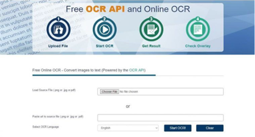 ocr space