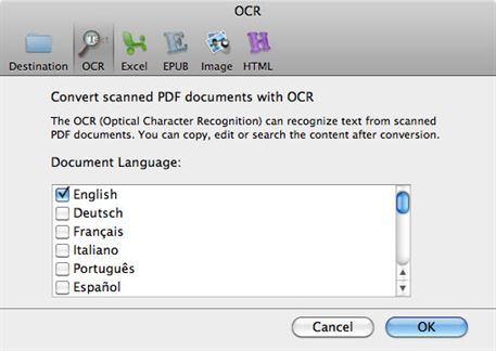 ocr software pdf