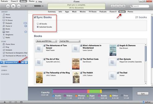 import pdf to ibooks