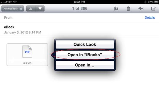 add pdf to ibooks