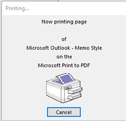 outlook covnert emails to pdf