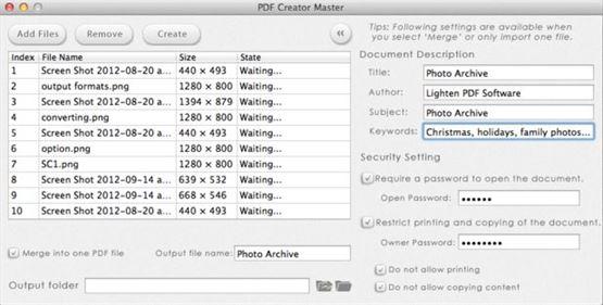 pdf creator master