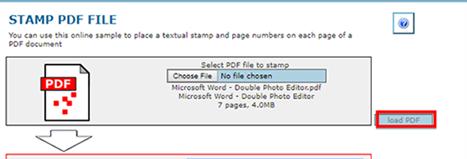 stamp pdf online