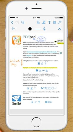 pdf pen 2 for iphone