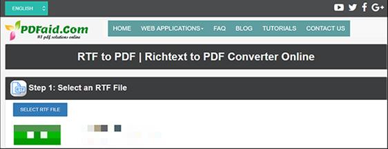 pdfaid rtf to pdf