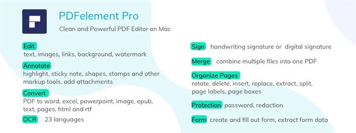 Top 10 Free PDF Editors for Mac 2019 - Updated