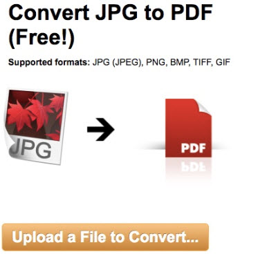 convert jpeg to pdf file free