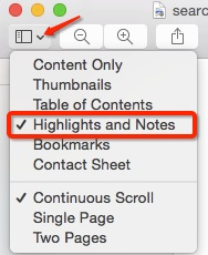 comment pdf with preview