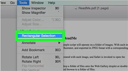 crop a pdf in preview