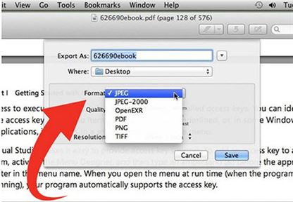convert pdf to png in preview