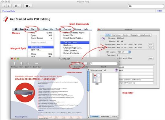 Proview PDF Editor for Mac
