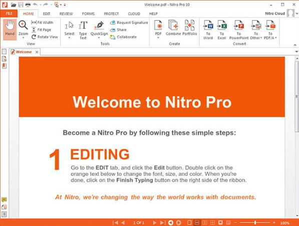 Nitro PDF Review: Tips about Nitro Pro 11, 10, 9 You Should Know