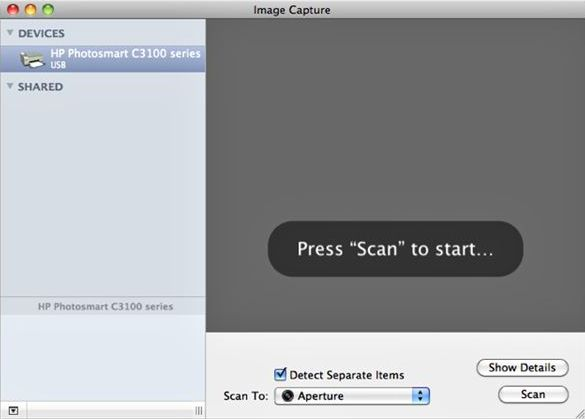 scan to pdf on mac