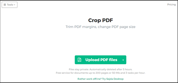 how to remove header and footer in pdf