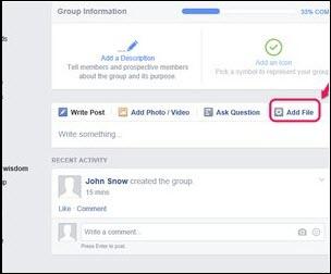 share pdf on facebook