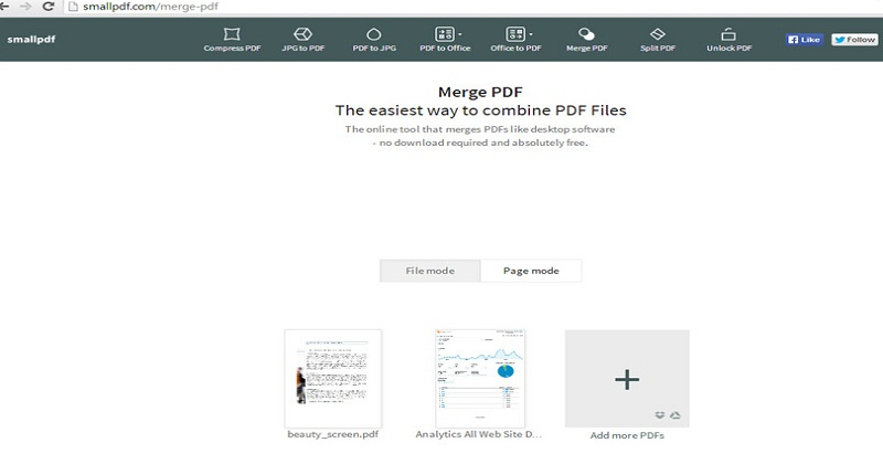 How to Merge PDF Online for a Single File