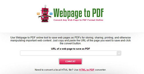 2 Easy Ways to Convert Web Link to PDF