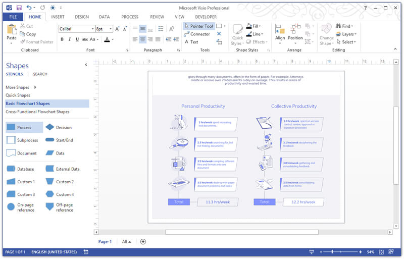 Latest 3 Methods to Convert PDF to Visio 2019