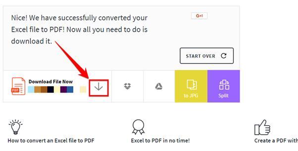convert xls to pdf online